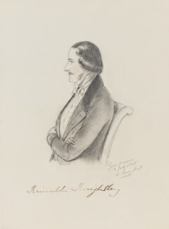 Rainald Knightley, 1st Baron Knightley, by Alfred, Count D'Orsay - NPG 4026(39)