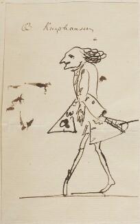 Dodo Heinrich, Freiherr von Knyphausen, by George Townshend, 4th Viscount and 1st Marquess Townshend, 1751-1758 - NPG 4855(57) - © National Portrait Gallery, London