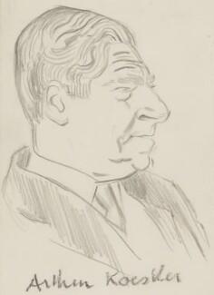 Arthur Koestler, by Sir David Low - NPG 4529(198)