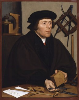 Nicholas Kratzer, after Hans Holbein the Younger, late 16th century, based on a work of 1528 - NPG 5245 - © National Portrait Gallery, London