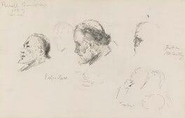 Henry du Pré Labouchère; Justin McCarthy, by Sydney Prior Hall, 1889 - NPG 2284 - © National Portrait Gallery, London