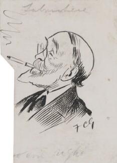 Henry du Pré Labouchère, by Sir Francis Carruthers Gould ('F.C.G.'), circa 1900s-1912 - NPG 2848 - © National Portrait Gallery, London