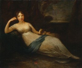 Lady Caroline Lamb, by Eliza H. Trotter, exhibited 1811 - NPG  - © National Portrait Gallery, London