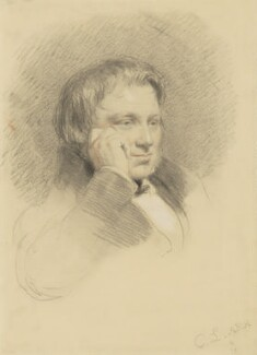 Thomas Landseer, by Charles Landseer, 1825-1850 - NPG 1120 - © National Portrait Gallery, London