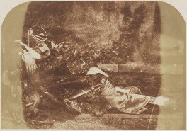 John Lane in an Indian dress, by David Octavius Hill, and  Robert Adamson - NPG P6(157)