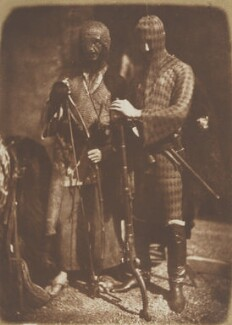 Afghan (in fact Moorish) Costume (John Lane; Mr Redding), by David Octavius Hill, and  Robert Adamson - NPG P6(159)