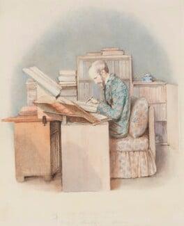Edward William Lane, by Clara Sophia Lane, 1850 - NPG 3099 - © National Portrait Gallery, London