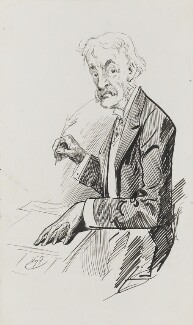 Andrew Lang, by Harry Furniss - NPG 3483