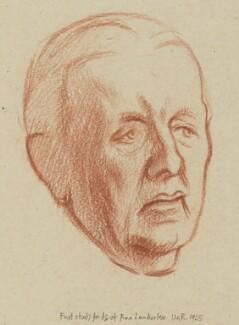 Sir (Edwin) Ray Lankester, by William Rothenstein - NPG 4781