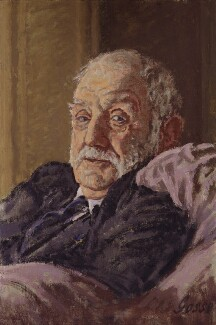 George Lansbury, by Sylvia Gosse - NPG 3775