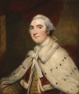 William Petty, 1st Marquess of Lansdowne (Lord Shelburne), after Sir Joshua Reynolds - NPG 43