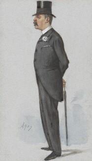 Cuthbert Larking, by Carlo Pellegrini, published in Vanity Fair 11 August 1888 - NPG 4724 - © National Portrait Gallery, London