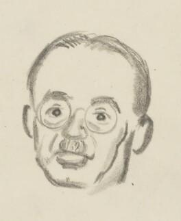 Harold Laski, by Sir David Low - NPG 4529(205a)