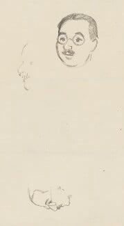Harold Laski, by Sir David Low - NPG 4529(206)