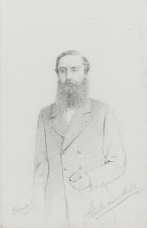 Edward Bootle-Wilbraham, 1st Earl of Lathom, by Frederick Sargent - NPG 1834(s)