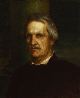 John Laird Mair Lawrence, 1st Baron Lawrence, by George Frederic Watts - NPG 1005