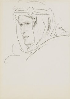 T.E. Lawrence, by Augustus John - NPG 3187