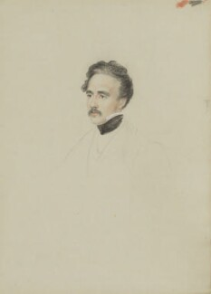 Sir Austen Henry Layard, by William Brockedon - NPG 2515(103)