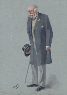 Sir George Archibald Leach, by Frederick Thomas Dalton ('F.T.D.') - NPG 2974