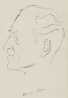 David Lean, by Sir David Low - NPG 4529(208)