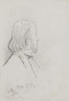 (William) Edward Hartpole Lecky, by Marian Collier (née Huxley) - NPG 3146