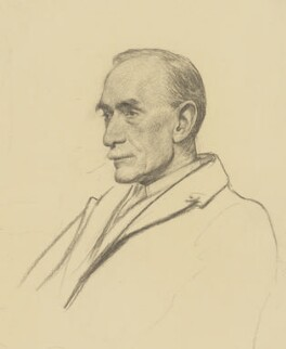 Sir Sidney Lee, by Francis Dodd - NPG 4423