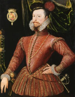 Robert Dudley, 1st Earl of Leicester, by Unknown Anglo-Netherlandish artist - NPG 447