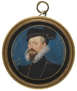 Robert Dudley, 1st Earl of Leicester, by Nicholas Hilliard - NPG 4197