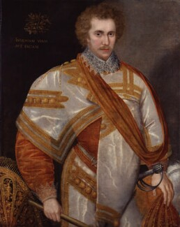 Robert Sidney, 1st Earl of Leicester, by Unknown artist, circa 1588 - NPG  - © National Portrait Gallery, London