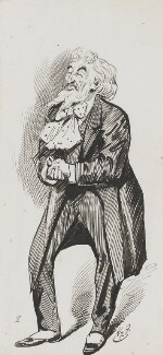 Frederic Leighton, Baron Leighton, by Harry Furniss - NPG 3484