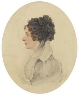Augusta Leighton (née Nash), by Edward (?) Foster - NPG 2141(d)