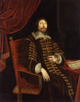 William Lenthall, by Unknown artist - NPG 12