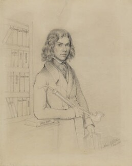 George Henry Lewes, by Anne Gliddon - NPG 1373