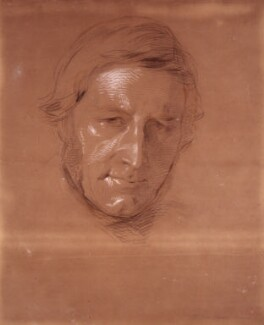 Sir George Cornewall Lewis, 2nd Bt, by George Richmond - NPG 1063