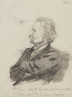 Sir George Henry Lewis, 1st Bt, by Sydney Prior Hall - NPG 2258