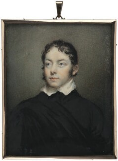 Matthew Gregory Lewis, by George Lethbridge Saunders, after  Unknown artist - NPG 2171