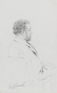 James Hewitt, 4th Viscount Lifford, by Frederick Sargent - NPG 1834(t)