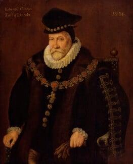 Edward Fiennes de Clinton, 1st Earl of Lincoln, by Unknown artist - NPG 900