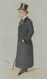 Charles Robert Wynn-Carington, Marquess of Lincolnshire, by Sir Leslie Ward - NPG 3111