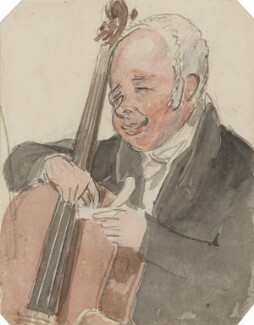 Robert Lindley, by Alfred Edward Chalon - NPG 1962(e)