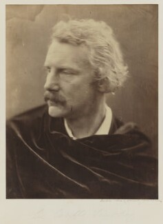 Sir Coutts Lindsay, 2nd Bt, by Julia Margaret Cameron - NPG P52
