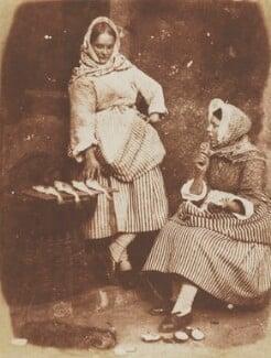 Jeanie Wilson; Annie Linton, by David Octavius Hill, and  Robert Adamson - NPG P6(200)