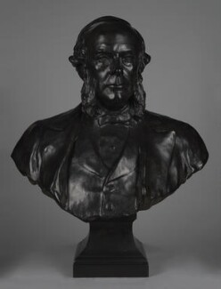 Joseph Lister, Baron Lister, by Sir Thomas Brock, 1927, based on a work of circa 1912-1913 - NPG 1958a - © National Portrait Gallery, London
