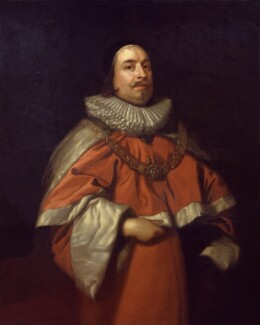 Edward Littleton, Baron Littleton, possibly after Sir Anthony van Dyck, based on a work of 1640 - NPG 473 - © National Portrait Gallery, London