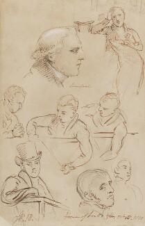 Robert Jenkinson, 2nd Earl of Liverpool, by Sir George Hayter, October 1820 - NPG 1695(m) - © National Portrait Gallery, London