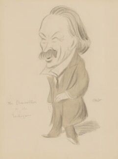 David Lloyd George, by Sir Henry Maximilian ('Max') Beerbohm, circa 1908 - NPG 3252 - © estate of Max Beerbohm