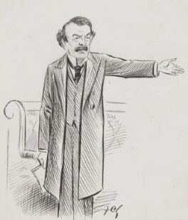 David Lloyd George, by Sir Francis Carruthers Gould ('F.C.G.'), circa 1909, based on a work published in 29 April 1909 - NPG 2837 - © National Portrait Gallery, London