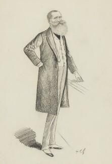 John Poyntz Spencer, 5th Earl Spencer, by Sir Francis Carruthers Gould ('F.C.G.'), 1890s? - NPG 2874 - © National Portrait Gallery, London