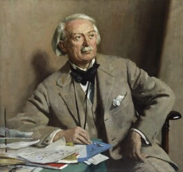 David Lloyd George, by Sir William Orpen - NPG 3244