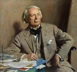 David Lloyd George, by Sir William Orpen, 1927 - NPG 3244 - © National Portrait Gallery, London